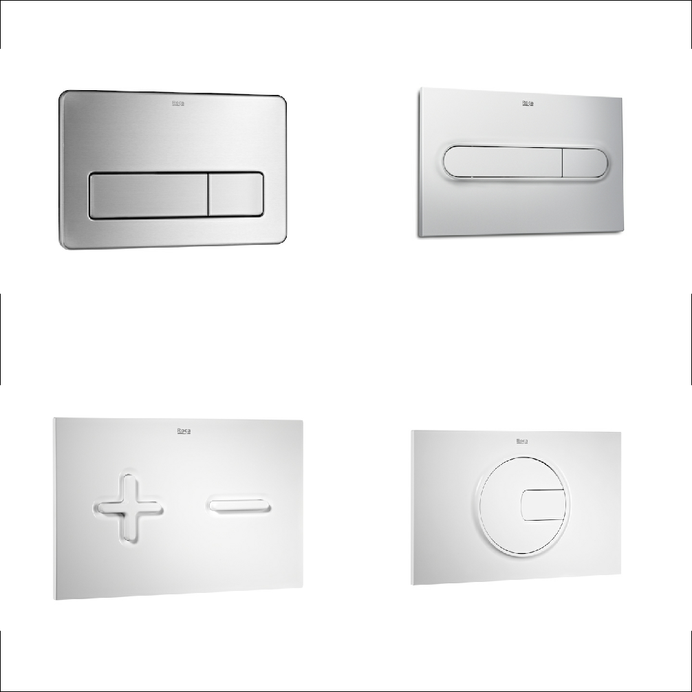 Placas de accionamiento In-Wall