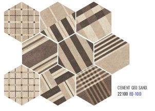Hexatile Cement - Cement Geo sand